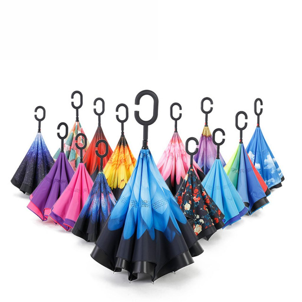 reversible double layered umbrella aliexpress