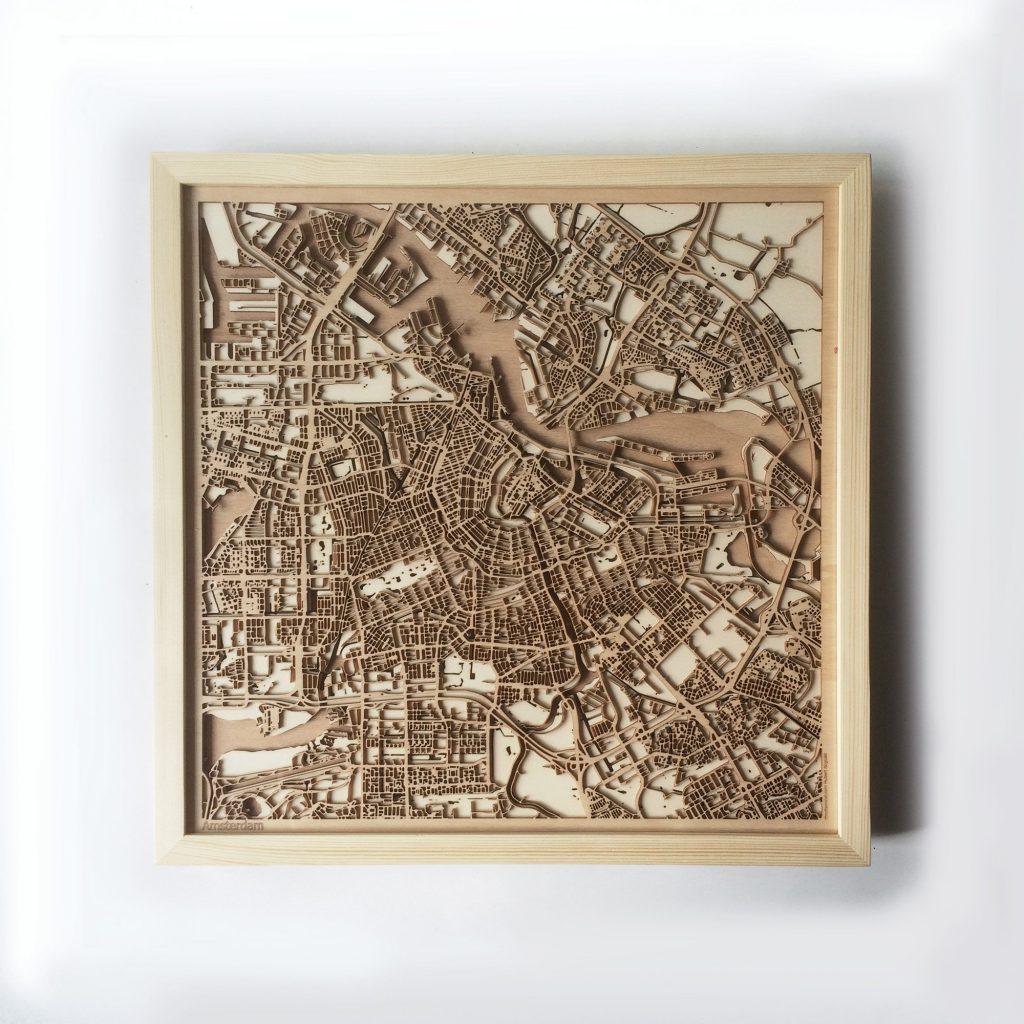 Amsterdam CityWood map