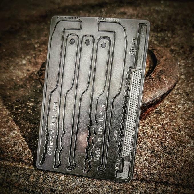 Grim Key Card
