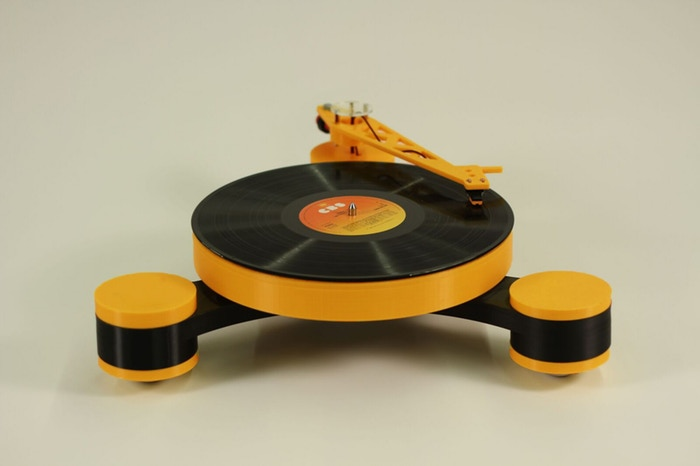 Lenco-MD record player