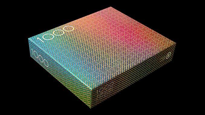 1000 piece color puzzle