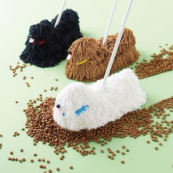 Mop looking dog mop