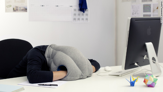 Ostrich Pillow Featured