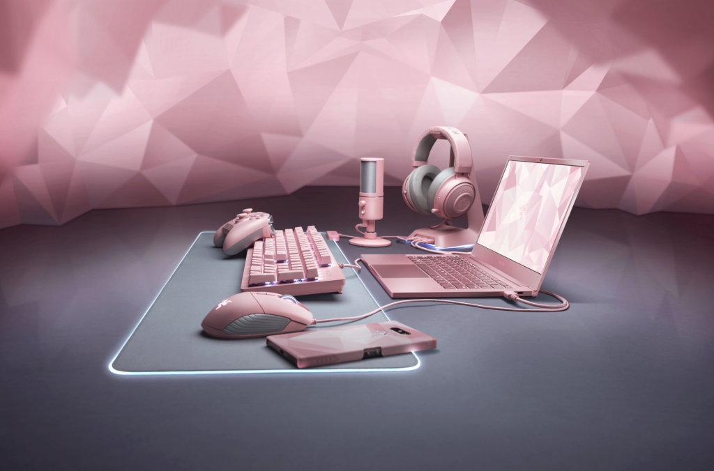 Razer Quartz Pink laptop