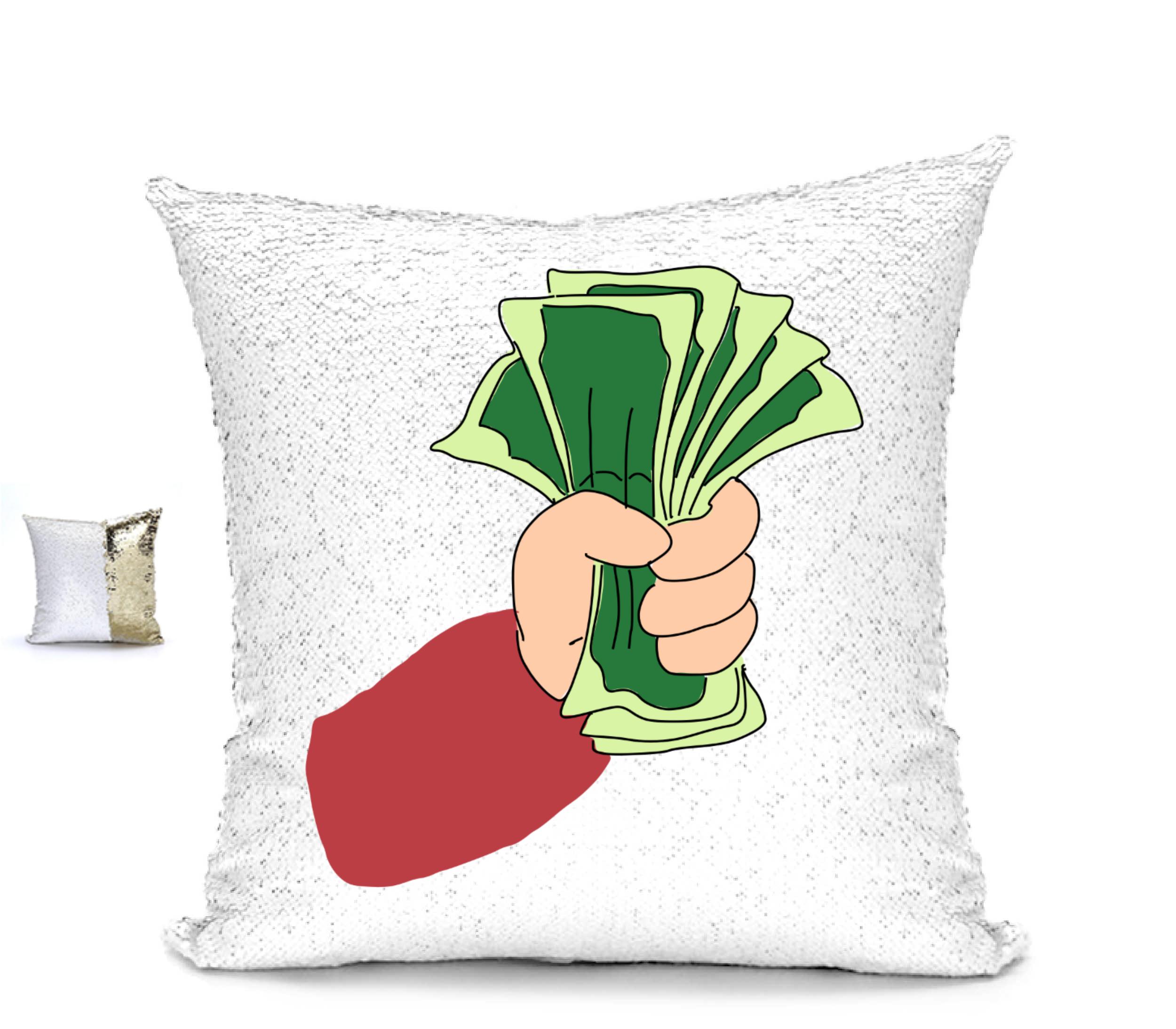 Reversible Sequin Pillow Case