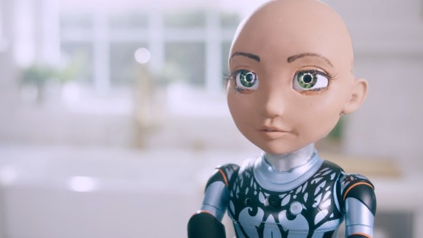Little Sophia Code Teaching Robot