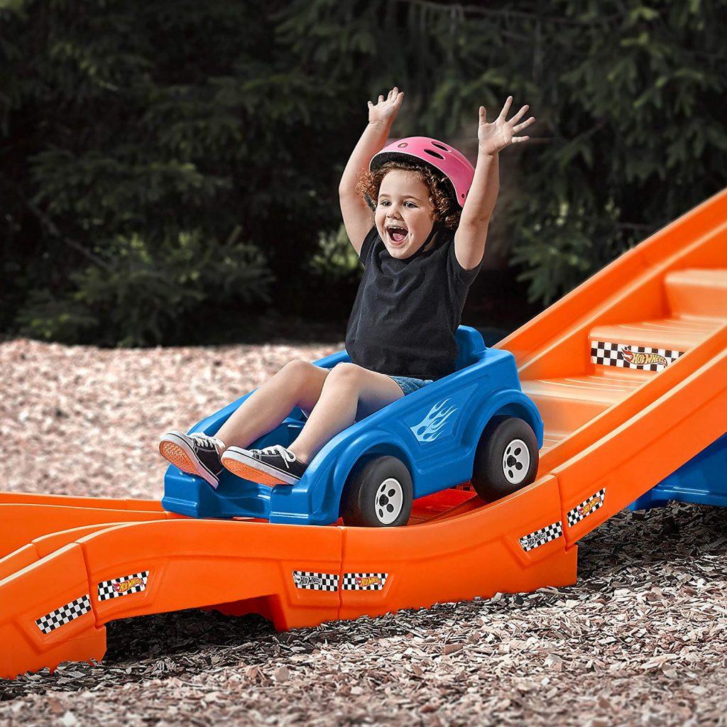 Backyard Ride-On Rollercoaster Set - Take My Money