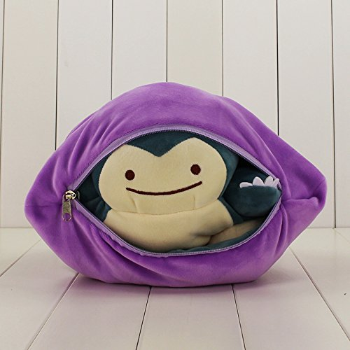 Snorlax Ditto Reversible Pillow Plush