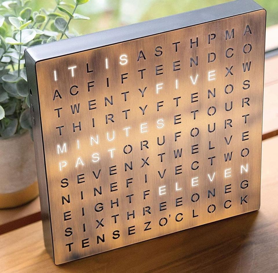 Electronic Word Clock