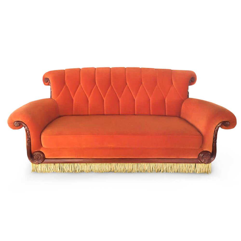 friends central perk replica sofa