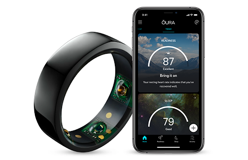 oura health ring and app