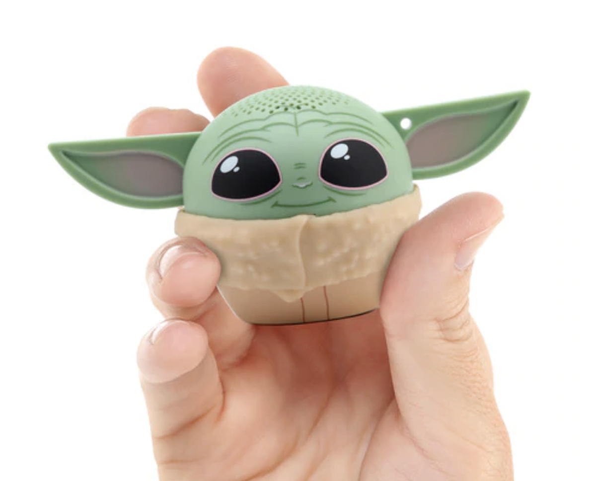 tiny baby yoda bluetooth speaker