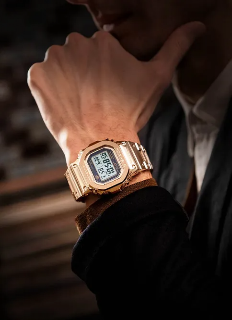 Rose Gold G-Shock Featured